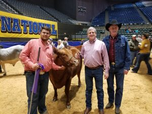 Tyler Owen, myself and Rex Buckhaults -- who was my FFA teacher